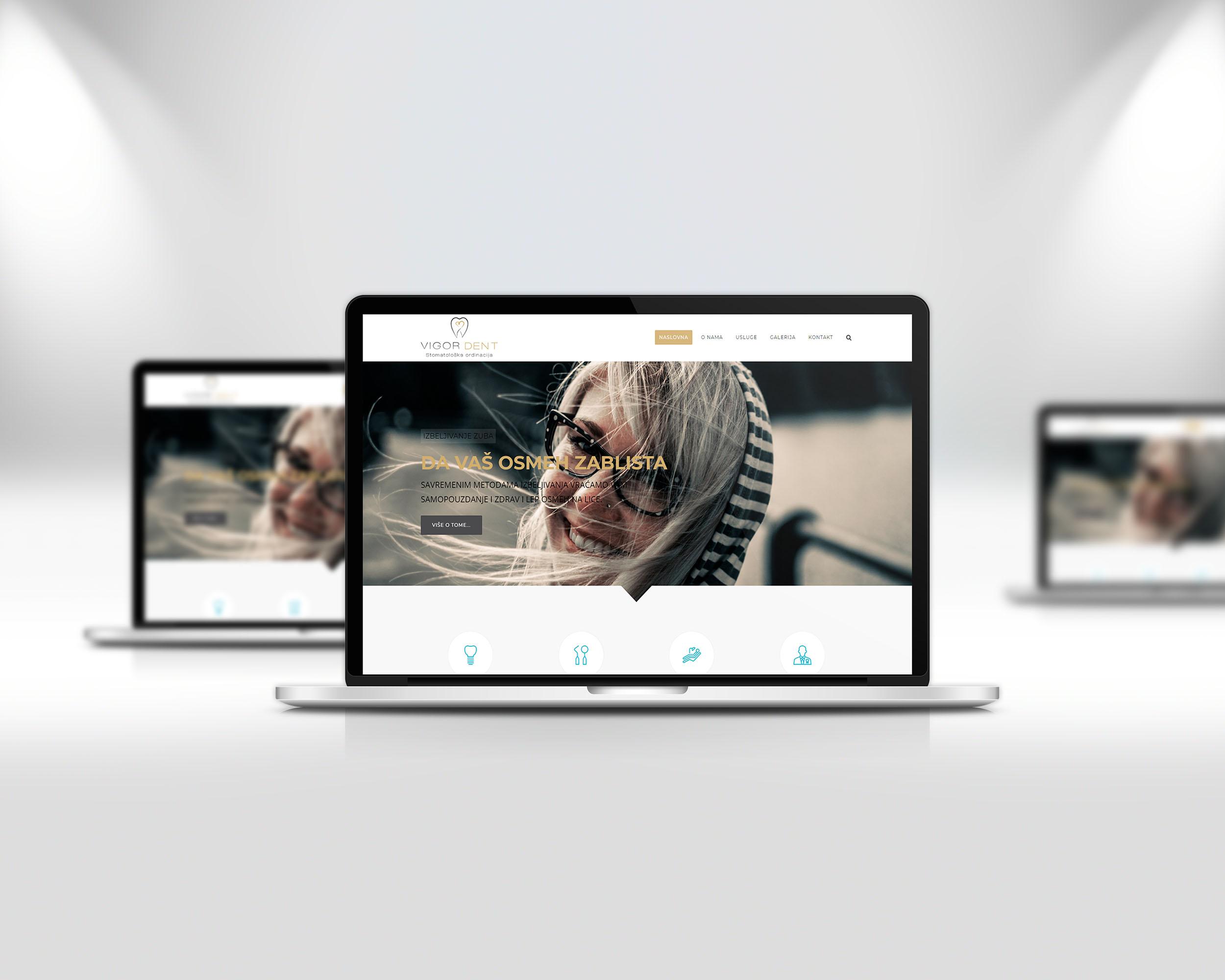 Izrada WordPress sajta za stomatolosku ordinaciju