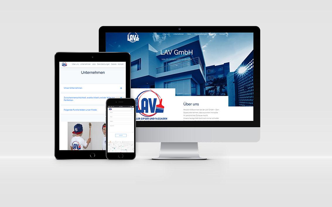 Izrada sajta za molersko gipsarske usluge
