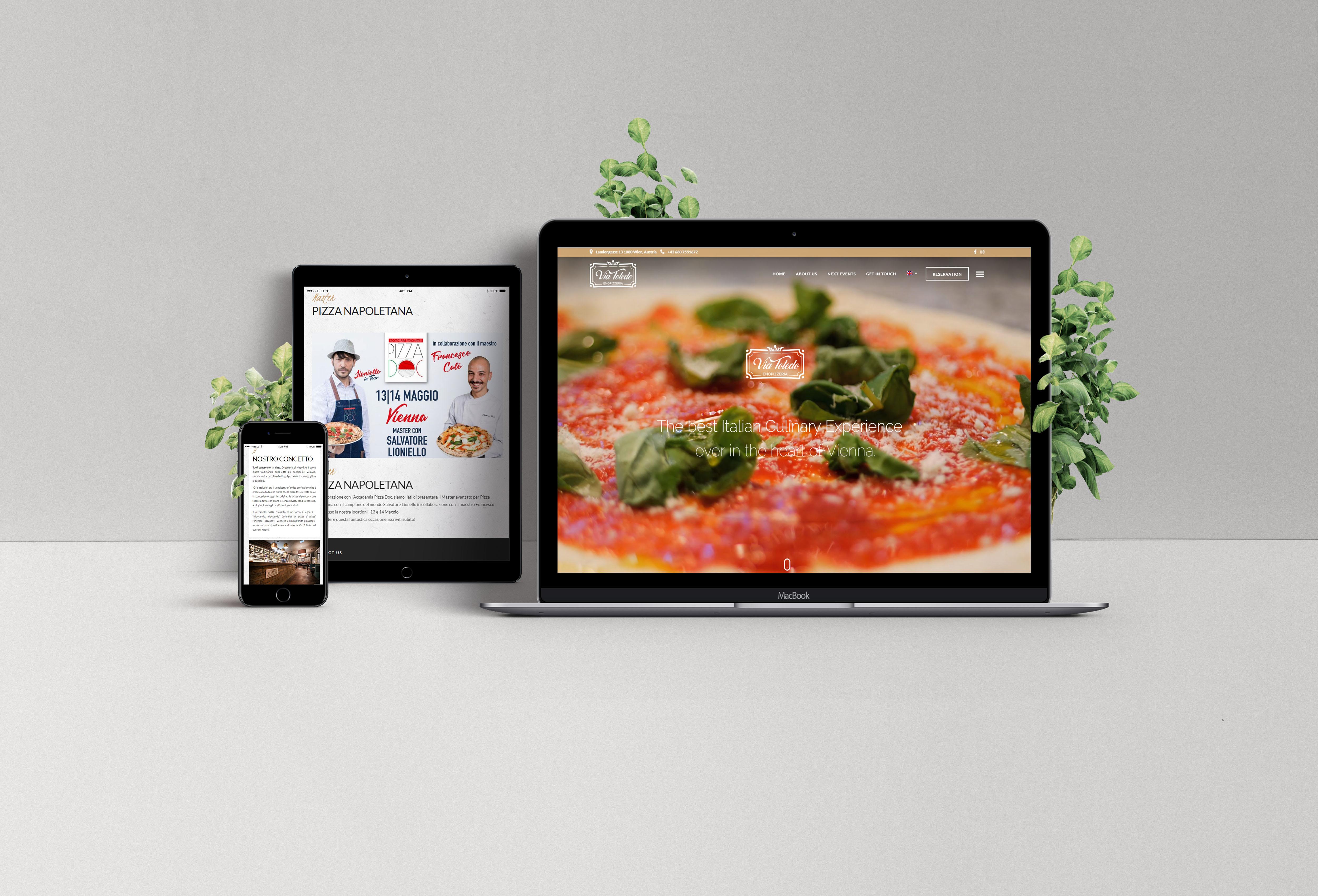 Izrada sajta za pizzeriju