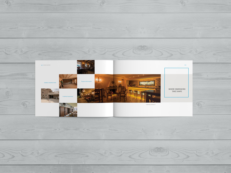 Dizajn i priprema brosure za arhitekte