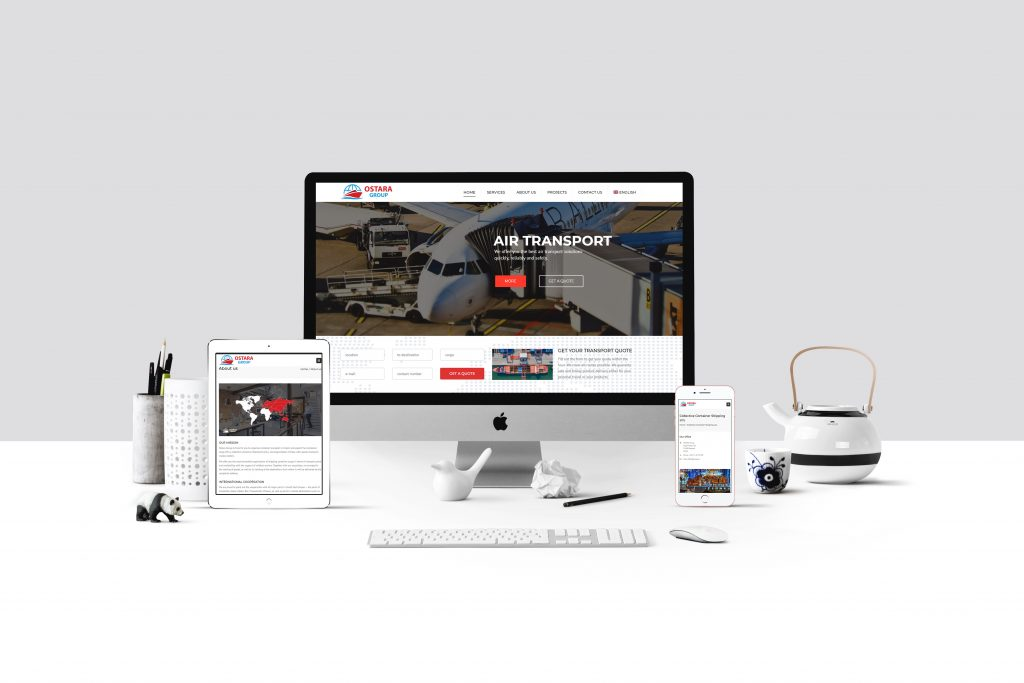 Izrada web sajta za Ostara Group