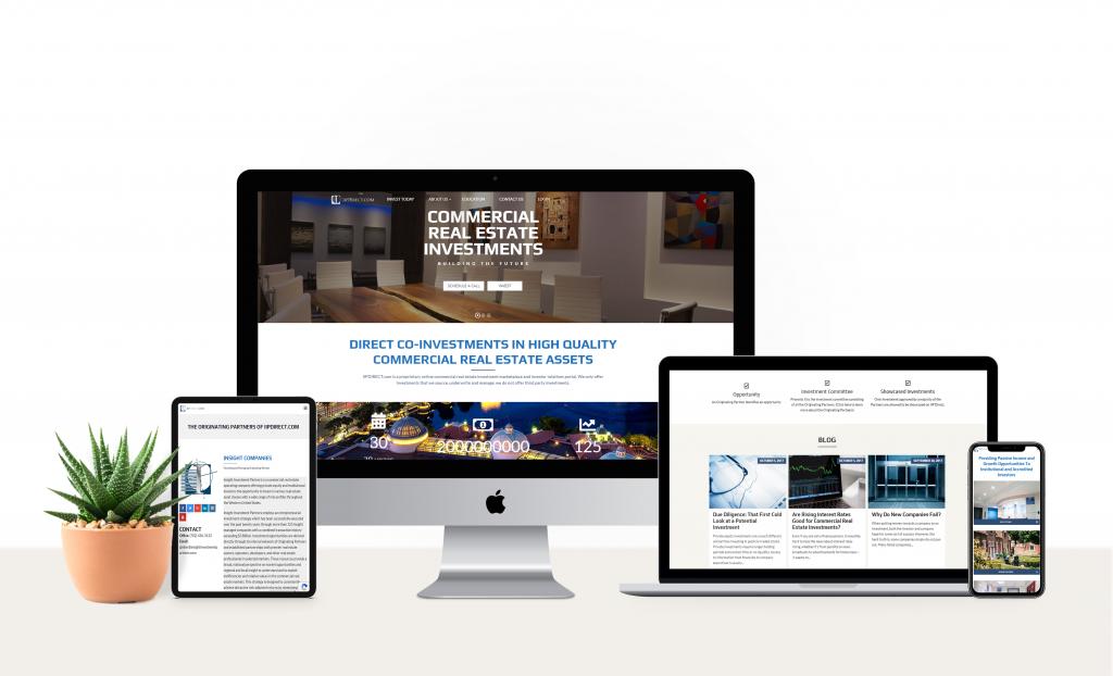 Izrada web sajta za firmu za nekretnine u Americi